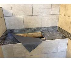 How to build bench for shower Video