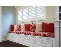 How to build bench seating with drawers Video