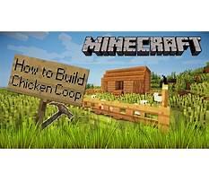 How to build chicken coop minecraft Video