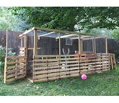 How to build chicken coop with pallets Video