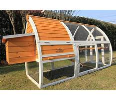 How to build chicken coops and runs from furniture Video