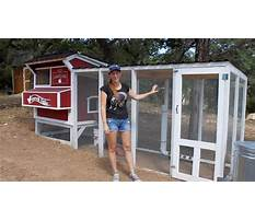 How to build chicken houses and runs Video