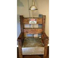 How to build electric chair for halloween Video