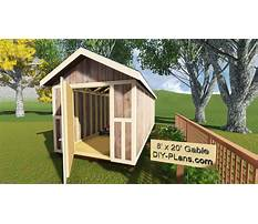 How to build gable end walls with your garden storage shed plans video Video