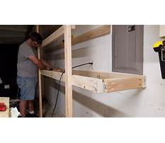How to build garage shelves youtube Video