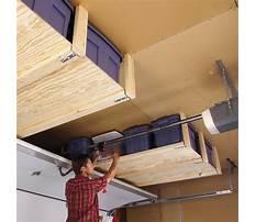 How to build garage storage rack Video