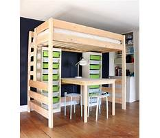 How to build loft bed with storage Video