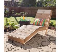 How to build outside chair Video