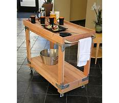 How to build patio furniture carts Video