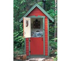 How to build the best outhouse Video