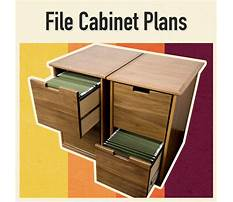 How to build wood file cabinets Video