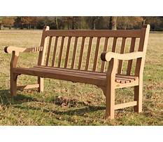 How to build wooden park bench Video