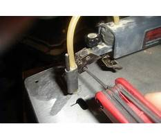 How to change a scroll saw blade Video