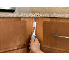 How to clean custom wood cabinets Video