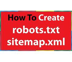 How to create sitemap xml Video
