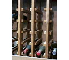 How to design a wooden wine rack Video