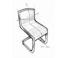 How to draw simple chairs design Video