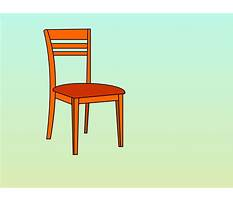How to draw simple chairs for seating Video