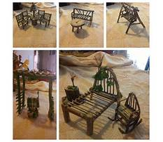 How to draw simple chairs from twigs Video