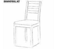 How to draw simple chairs Video