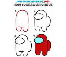 How to draw simple characters lessons Video