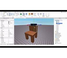 How to make a chair in roblox you can sit in Video