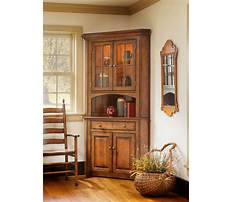 How to make a corner china cabinet Video