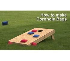How to make a cornhole.aspx Video