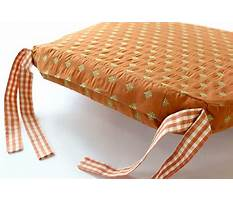 How to make a cushion cover for a bar stool Video