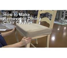 How to make a dining chair Video