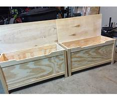 How to make a handmade toy chest Video