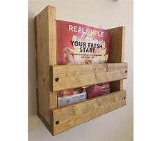 How to make a magazine rack for a wall Video