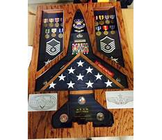 How to make a military shadow box retirement shadow boxes Video