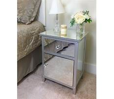 How to make a mirrored nightstand Video