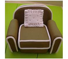 How to make a rocking chair out of fondant Video