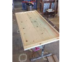 How to make a round table top with trex Video