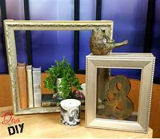 How to make a shadow box display case Video