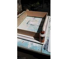 How to make a shadow box easy Video