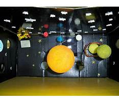 How to make a shadow box solar system Video