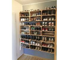 How to make a timber shoe rack Video