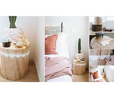 How to make a tree stump nightstand Video