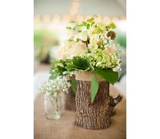 How to make a tree trunk vase Video