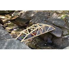 How to make a wooden arch bridge Video