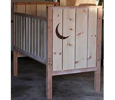 How to make a wooden baby crib Video