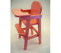 How to make a wooden doll high chair Video