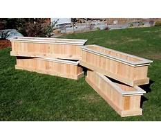 How to make a wooden planter box.aspx Video