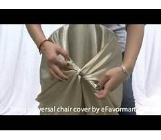 How to make folding chair covers.aspx Video