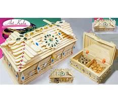 How to make jewellery box with ice cream sticks Video