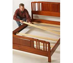 How to make queen size bed slats Video