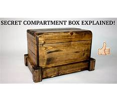 How to make secret compartment in box Video